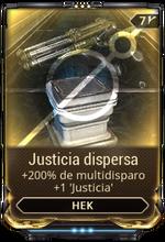 Justicia dispersa