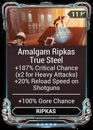 Amalgam Ripkas True Steel