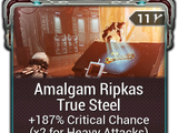 Amalgam Ripkas True Steel