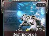 Destructor de órganos Amalgama