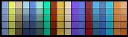 Dojo Palette