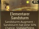Elementarer Sandsturm
