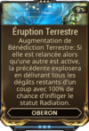 Eruption Terrestre