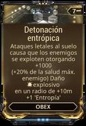 Detonación entrópica