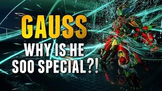 GAUSS THE MOST SPECIAL WARFRAME 2019