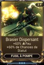 Brasier Dispersant