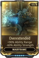 Overextended