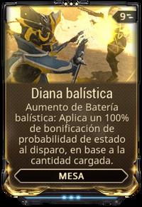 Diana balística