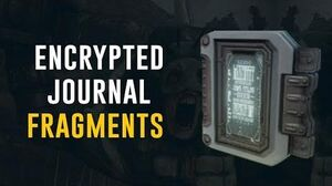 Encrypted Journal Fragments (Warframe)