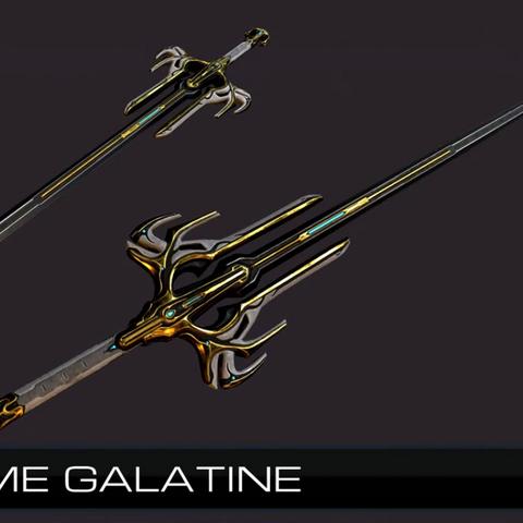 Zdjęcie pochodzące z TennoCon 2016 przedstawiające Galatine Prime