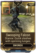 Swooping Falcon