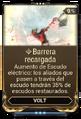 Barrera recargada