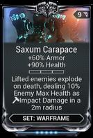 Saxum Carapace