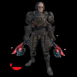 Солдат с огненным клинком вики