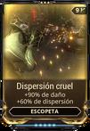 Dispersión cruel