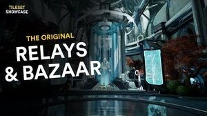 The Relay & Maroo's Bazaar 2019 Tileset Showcase (Warframe)