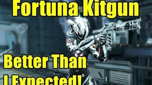 My First Fortuna Kitgun Did Not Disappoint! (3 Forma Tombfinger)