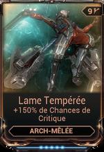 Lame Tempérée