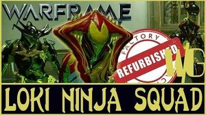 NINJA SQUAD ULTIMATE DISARM TACTIC 3 Loki Refurbished