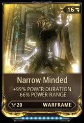 Narrow Minded