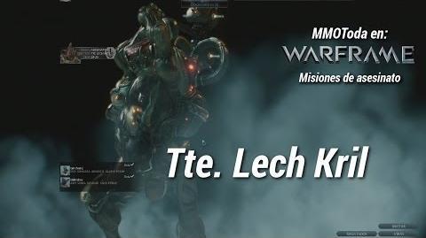 Warframe misión de asesinato del Tte Lech Kril en Ceres, misión Extra