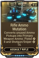 Rifle Ammo Mutation