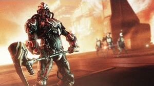 WARFRAME - Wolf Hunt Oberon Prime