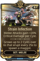 Strain Infection