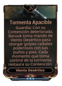 Tormenta Apacible