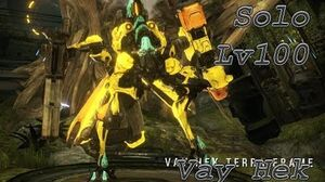 WARFRAME Solo lv100 Vay hek- With Build