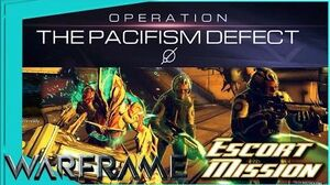 THE PACIFISM EFFECT - NEW GAMEMODE & PRIZES Warframe