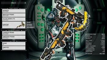 Warframe Gratag (New Weapon) First Look