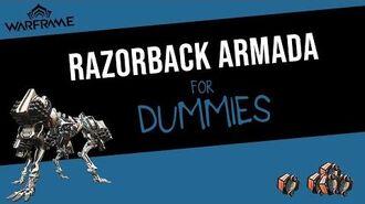 How to Defeat Razorback Armada Solo! Warframe 2020 Guide.