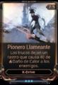 Pionero Llameante