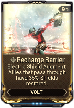 Recharge Barrier Warframe Wiki Fandom Powered By Wikia