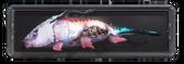 Fischtrophäe Mortus Lungenfisch