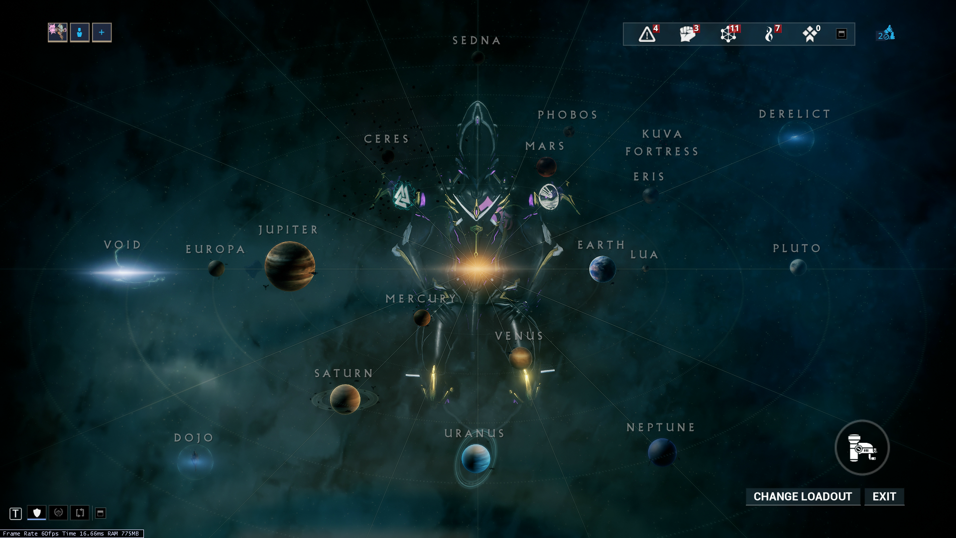 Star Chart WARFRAME Wiki FANDOM Powered By Wikia - Map of all planets