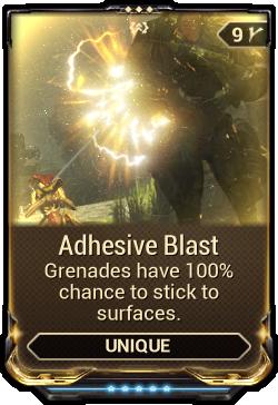 Adhesive Blast | WARFRAME Wiki | FANDOM powered by Wikia