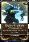 Explosión gélida