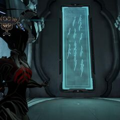 Relay Sign - Energy of the Void is the lifeblood of a Tenno