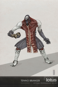 Tenno brawler colour
