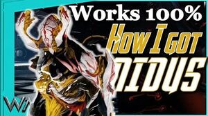 HOW I GOT NIDUS - The Grand Opening of the Infested Room Warframe