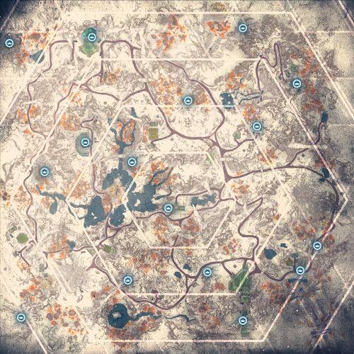 Карта Кэшей Данных вики