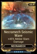 Necramech Seismic Wave
