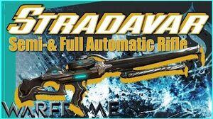 STRADAVAR - 2-in-1 Special 3 Forma - Warframe