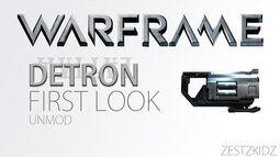 WARFRAME - DETRON U11.8