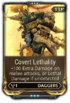 CovertLethality