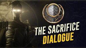 The Sacrifice Cutscenes & Dialogue! Neutral Balance (The Warframe Story)