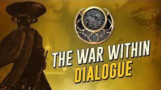 The War Within Cutscenes & Dialogue! Moon Dark (The Warframe Story)