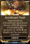 Accélérant Flash